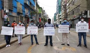 La Victoria: empresarios de Gamarra realizarán plantón exigiendo  la reapertura de galerías