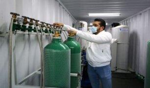 Repotencian planta de oxígeno de La Molina para atender una mayor demanda