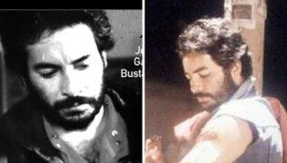 El actor peruano, Jorge García Bustamante falleció el pasado sábado