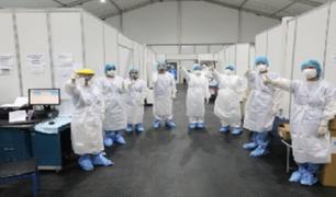 Curva de fallecidos por coronavirus muestra una ligera desaceleración, según las autoridades