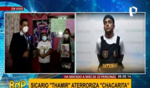 Sicario 'Thamir' amenaza a madres de sus víctimas pese a estar detenido