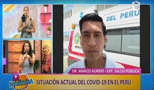 D'Mañana | COVID-19 en el Perú: especialista desmiente algunos mitos caseros sobre el virus