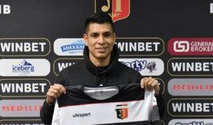 Paolo Hurtado fue oficializado como flamante refuerzo del Lokomotiv Plovdiv de Bulgaria