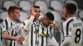 Abre el camino: Juventus goleó a Crotone con doblete de CR7