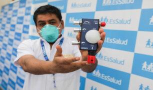 EsSalud recibe donación de un importante aparato que permitirá bajar la alta carga en UCI