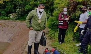 Enamorados son hallados sin vida en reservorio de agua en Cusco