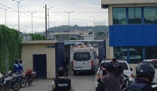 Ecuador: reportan más de 50 presos muertos durante motines en tres cárceles