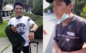 Caso peruano lanzado de puente: cadáver hallado en Colombia es de Silvano Cántaro