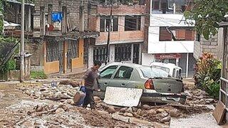 Junín: huaicos en Chanchamayo dejan 50 viviendas sepultadas y 250 damnificados