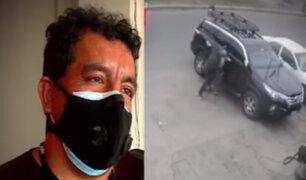 Los Olivos: delincuentes secuestran a conductor para llevarse su camioneta