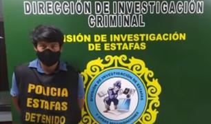 Los Olivos: detienen a sujetos que estafaron con comprobantes falsos a vendedores de oxígeno