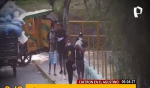 El Agustino: policía desarticuló a 'Los bagres de Puente Nuevo'