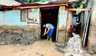 Junín: más de 30 viviendas afectadas por inundaciones e intensas lluvias