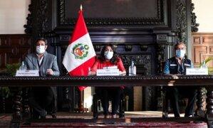 Consejo de Ministros rechazó falsas aseveraciones de Astete contra Francisco Sagasti