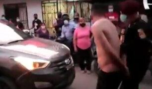 Los Olivos: vecinos exigen mayor patrullaje para frenar inseguridad ciudadana