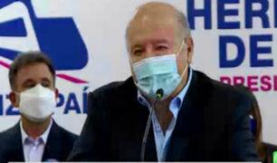 Hernando de Soto aclara que nunca apoyó las propuestas de López de Aliaga