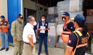 Madre de Dios: envían más de 48 toneladas de bienes de ayuda humanitaria tras inundaciones