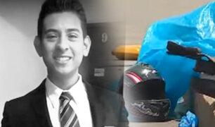 Rímac: joven repartidor murió tras aparatoso choque