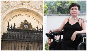 Caso Ana Estrada: Defensoría espera que decisión del PJ no sea apelada