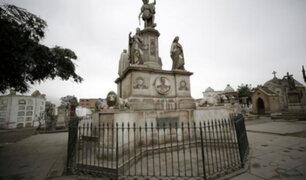 Cementerio Presbítero Maestro: esculturas son declaradas Patrimonio Cultural de la Nación