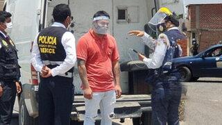 PNP realizó reconstrucción de feminicidio en Carabayllo