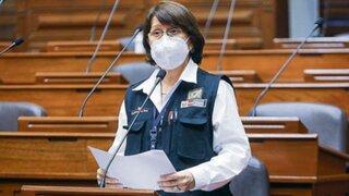 """Vacunagate: Mazzetti advierte """"inexactitudes"""" en informe final de la Comisión del Congreso"""