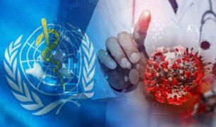 OMS reporta reducción de casos por COVID-19 a nivel global