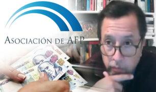 Proyecto de ley propone nuevo retiro de AFP