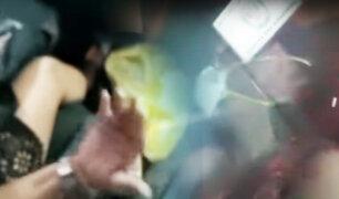 Cañete: sorprenden a médico desnudo con una enfermera en un auto