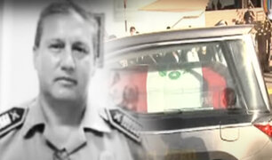 Dan último adiós a Jefe policial de Chincha fallecido de COVID-19
