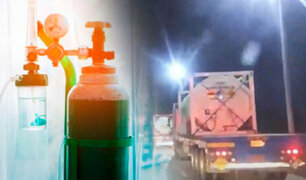 Buena noticia: Llegan 42 toneladas de oxígeno medicinal donado por Chile