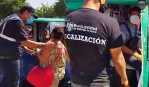 Extranjero que manejaba una mototaxi informal secuestró a una mujer en Surco