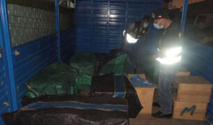 Incautan 300 mil cigarrillos de contrabando que iban a ser distribuidos en los conos de Lima