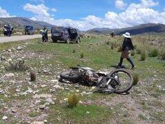 Puno: Joven fallece trágicamente al accidentarse en la carretera Nuñoa - Ticuyo