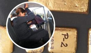 Cusco: intervienen a mujer que llevaba dos kilos de oro oculto entre sus senos