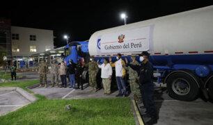 Covid-19: llegaron las primeras 40 toneladas de oxígeno medicinal  importadas de Chile