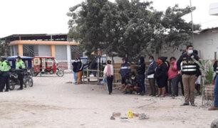 Piura: sujeto fue asesinado por resistirse al robo de su vehículo