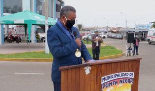 Tras varios días internado, alcalde de Punta Negra falleció por Covid-19