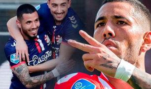 Sergio Peña anota y da triunfo al FC Emmen