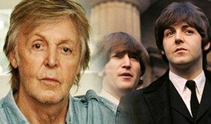 Paul McCartney lanza 2 libros con las letras de todas sus canciones