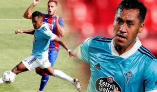 Renato Tapia fue titular en empate del Celta de Vigo