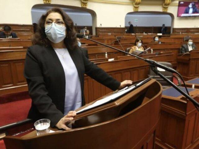 Premier Bermúdez solicitó reunirse con Mesa Directiva del Congreso y voceros