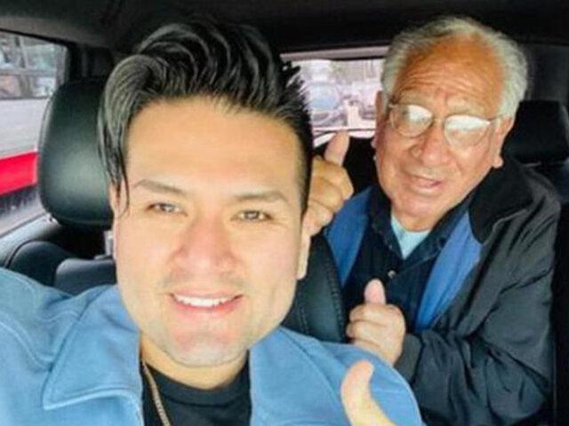 """Cantante Deyvis Orosco tras fallecimiento  de su abuelo: """"Hasta Siempre papito Felipe"""""""