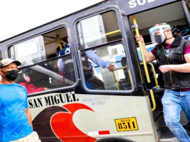 Transportistas anuncian paro para el 7 de abril en Lima y Callao