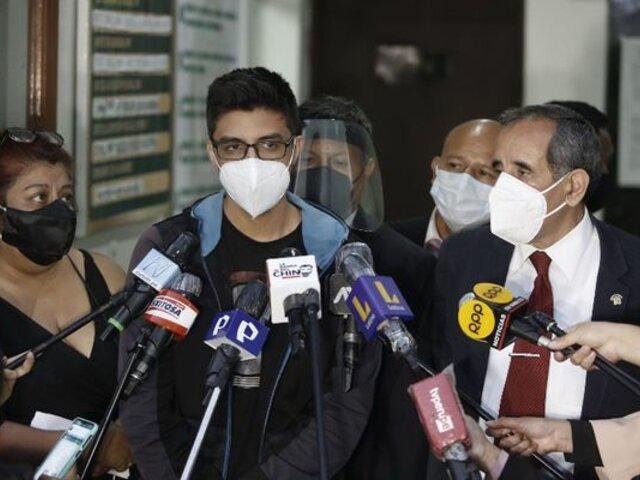 Carlos Ezeta afirmó que Ricardo Burga se negó a colaborar en un nuevo examen