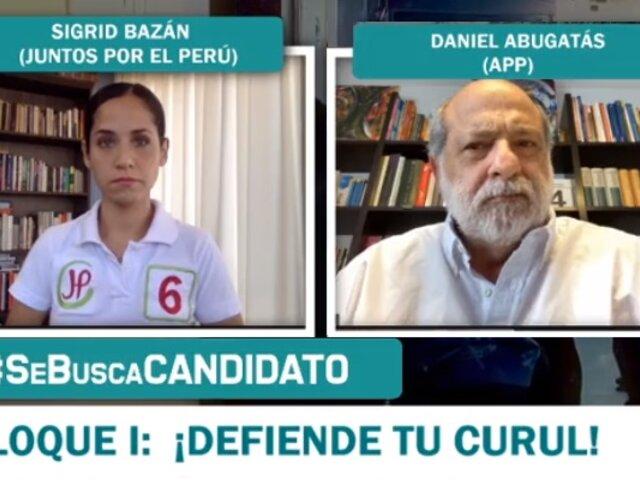 Abugattás a Sigrid Bazán: ¿Verónika Mendoza tuvo otro trabajo además de ser secretaria de Nadine?