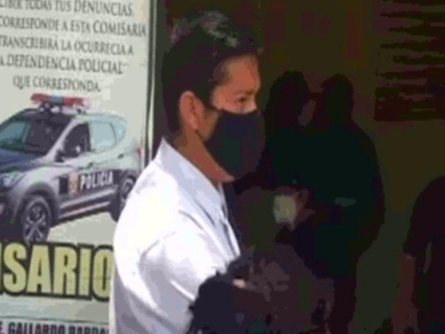 Falsos fiscalizadores fueron detenidos tras solicitar coimas a bodeguera