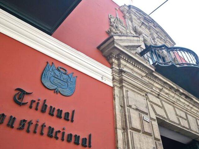 Tribunal Constitucional: 78 abogados postulan para seis plazas de magistrados
