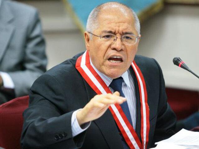 JNJ suspende a juez supremo César San Martín durante 30 días por audios con Walter Ríos
