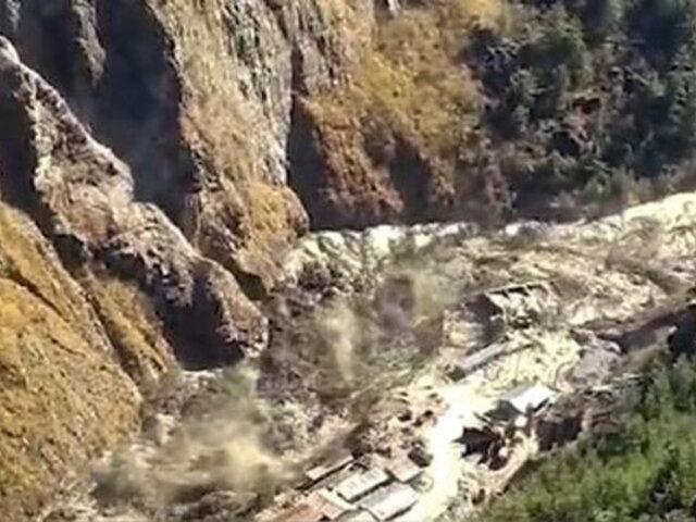 Tragedia en India: desprendimiento de un glaciar del Himalaya deja 200 desaparecidos